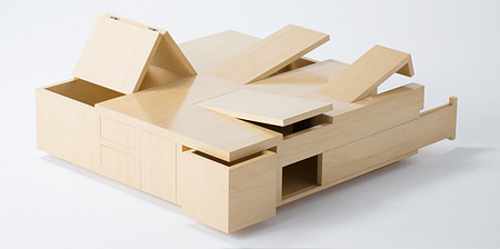 Table with Secret Compartments