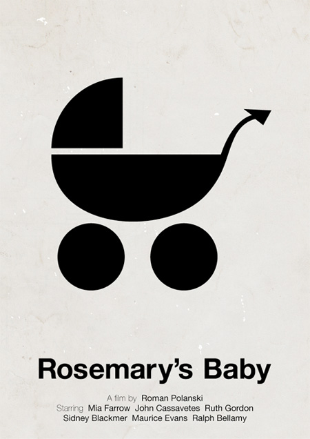 Rosemarys Baby Movie Poster