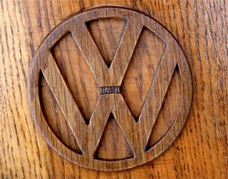 Wooden Volkswagen
