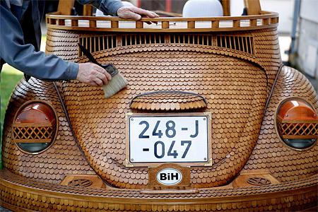 Wooden VW
