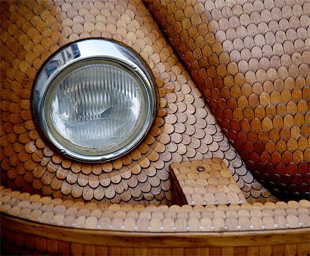 Momir Bojic Wooden Volkswagen