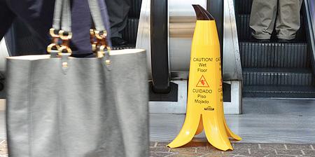 Banana Wet Floor Sign