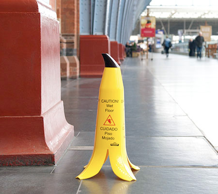 Banana Wet Floor Sign