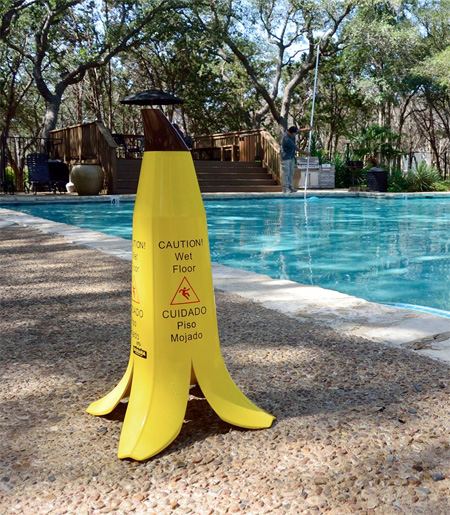 Banana Caution Wet Floor
