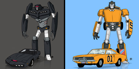 Famous Transformers