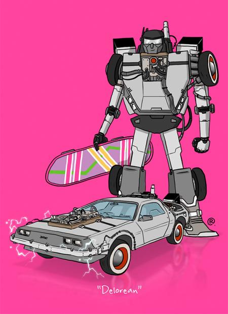 DeLorean Transformer