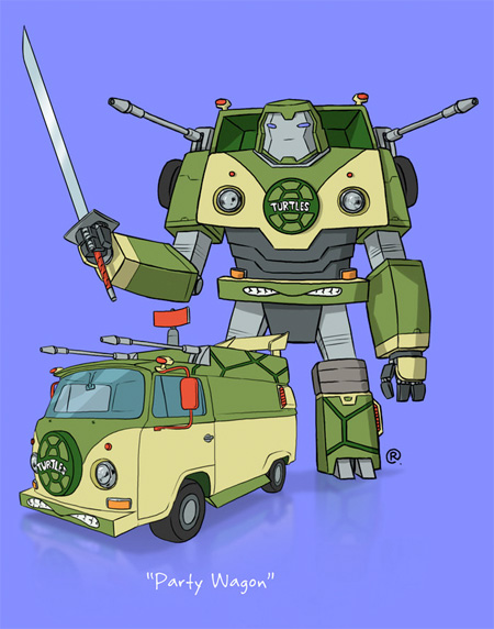 TMNT Transformer