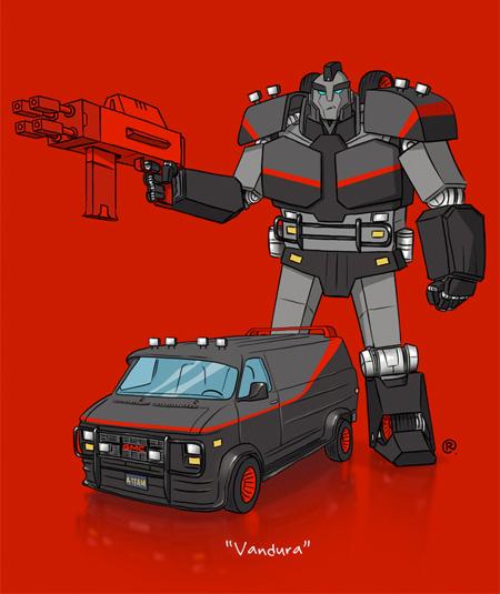A-Team Transformer
