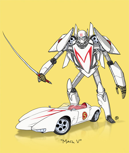 Speed Racer Transformer