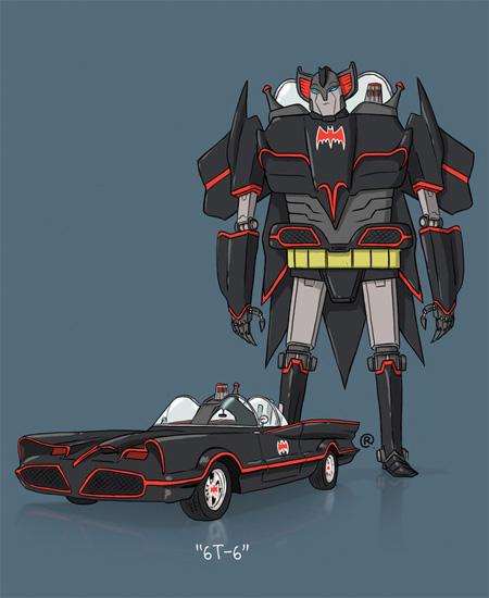 Batmobile Transformer