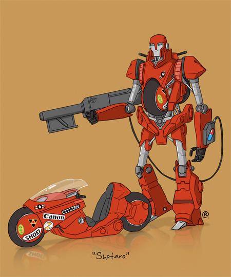 Akira Transformer