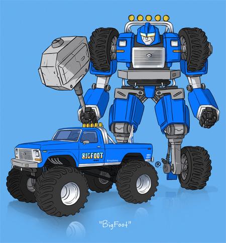 Monster Truck Transformer