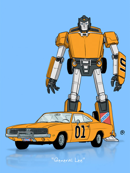 Dukes of Hazard Transformer