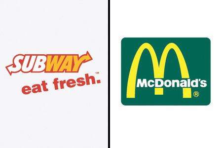 Brands Swapped Colours