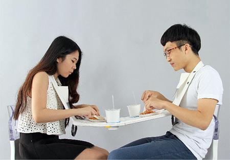 Napkin Picnic Table