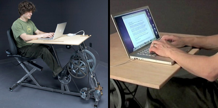 Pedal Powered Workstation