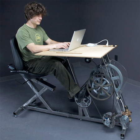 Bicycle Workstation