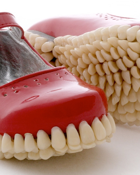 Girls Shoes with Teeth