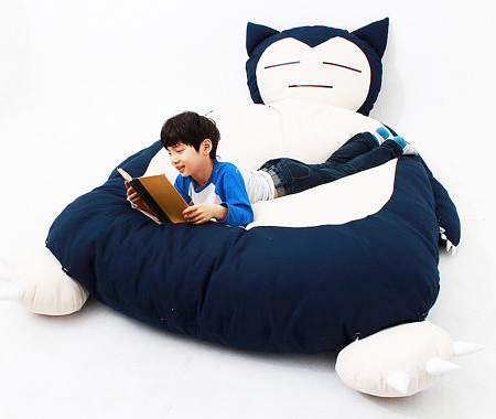 Snorlax Pokemon Bed
