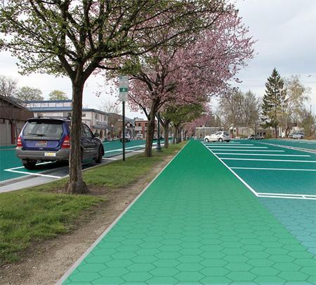 Panel Solar Carretera