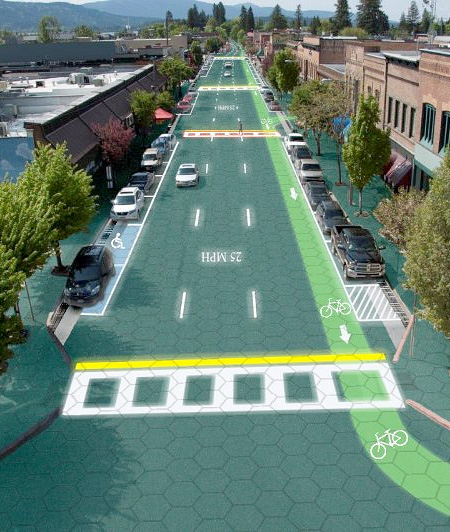 Solar Powered Road