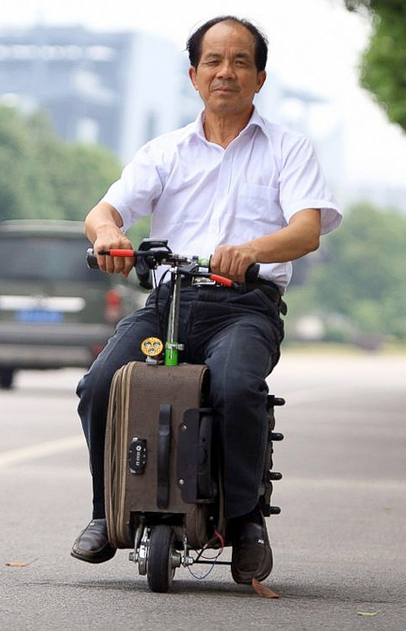 Chinese Suitcase Scooter