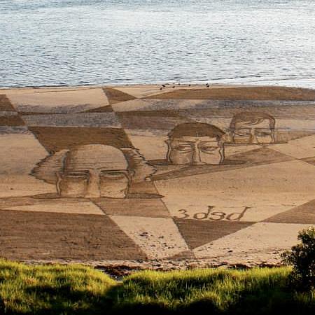 3D Sand Artworks
