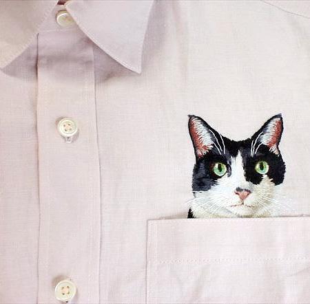 Hiroko Kubota Cat Shirt