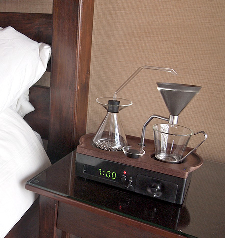 Coffee Maker Alarm Clock