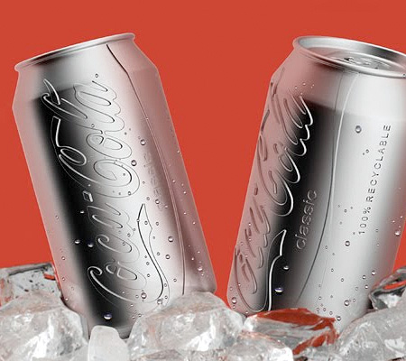 Harc Lee Colorless Coca-Cola Can