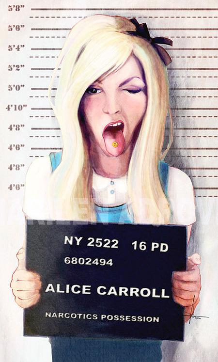 Alice Mugshot