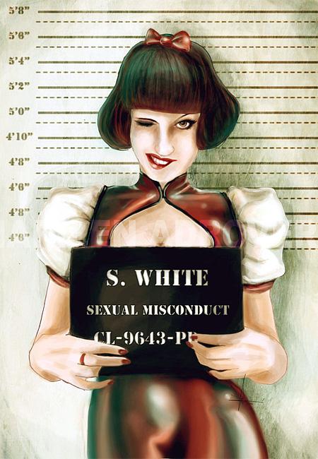 Snow White Mugshot
