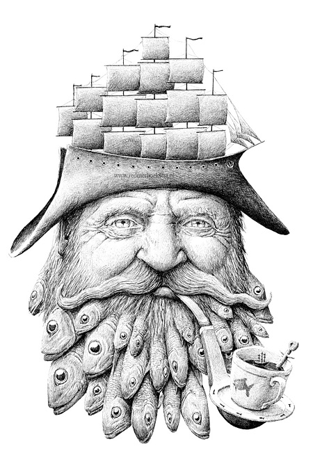 Drawings by Redmer Hoekstra