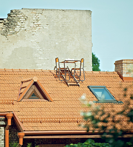 Roof Furniture by Aine Bunikyte