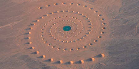 Sand Art in the Desert