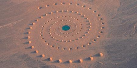 Sand Art in the Desert