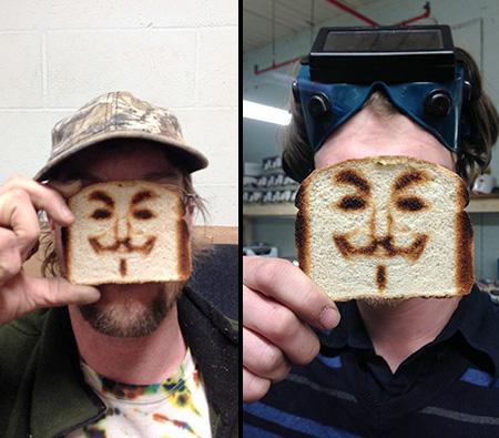 Portrait Toaster