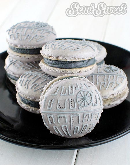 Death Star Macarons