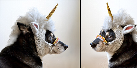 Unicorn Dog Mask