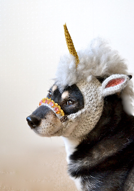 Unicorn Dog Mask