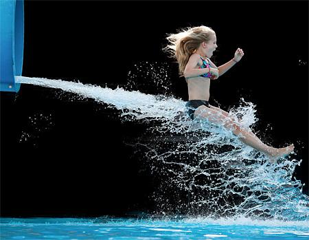 Water Slide Photos