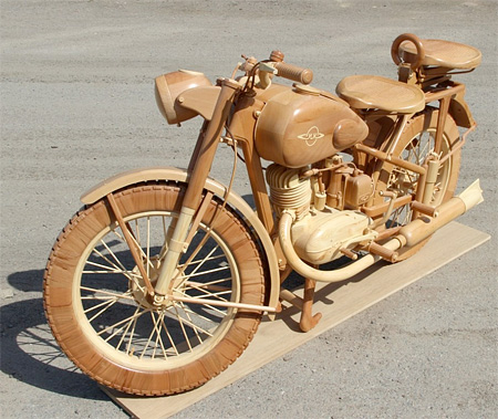Bike Made out of Wood