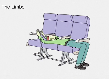 How to Sleep in Airplane