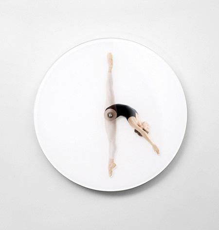 Ballet Dancer Clock
