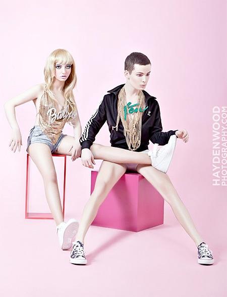 Hayden Wood Barbie and Ken