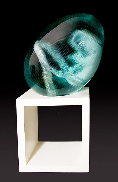 Layered Glass Sculpture
