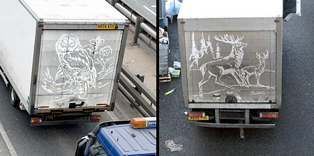 Drawings on Dirty Trucks
