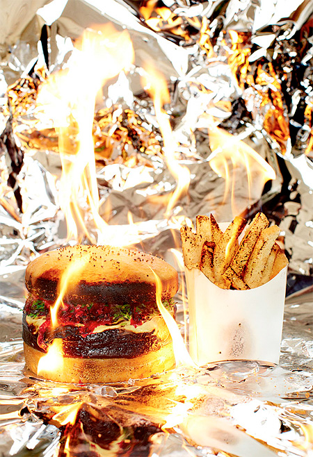 Burning Fast Food