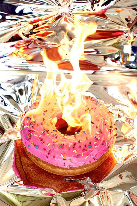 Burning Donut