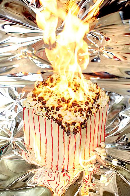 Burning Food